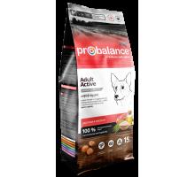 ПроБаланс для взрослых собак с высокой активностью 15 кг (ProBalance Immuno Adult Active)