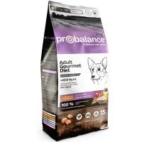 ПроБаланс для взрослых собак с говядиной и кроликом 15 кг (Probalance Gourmet Diet Beef & Rabbit)