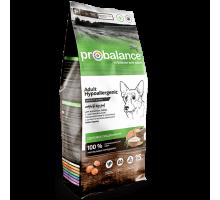 ПроБаланс для взрослых собак всех пород Гипоаллердженик 15 кг (ProBalance Hypoallergenic)