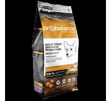 ПроБаланс для взрослых собак крупных пород 15 кг (ProBalance Immuno Adult Maxi)